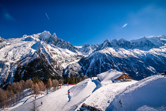 Chamonix-Mont-Blanc, France (Wolfhowl) Tags: montblanc france frenchalps montblancmassif landscape winter chamonix alps travel mountains шамоні франція 2016 europe alpinemountains chamonixmontblanc