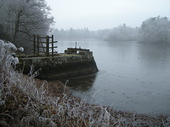 Immobility (christianbartlett) Tags: countryside lake ice winter walking scenery view light frost cold