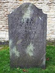 Slate headstone (badger_beard) Tags: st saint peter paul alconbury cambridgeshire cambs church anglican huntingdonshire slate headstone gravestone marker cemetery graveyard churchyard ss