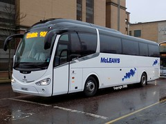 McLean's - YR13 UZC at Buchanan Bus Stn (Duffy 3) Tags: mcleans yr13uzc