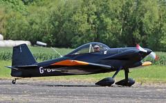 G-CDJB Vans RV-4 (PlanecrazyUK) Tags: fly in sturgate 070615 vansrv4 egcv gcdjb