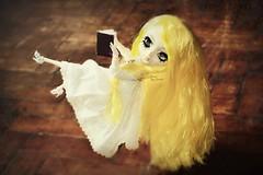 Magic Book ♥ (Dekki) Tags: fashion asian doll eyelashes doe planning groove pullip rozen maiden jun junplanning suigintou rewigged rechipped