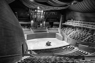 Disney Music Center in Monochrom
