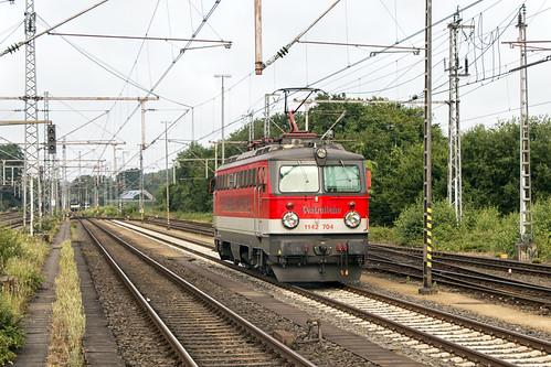 Centralbahn 1142 704, Bad Bentheim 18 juli 2015