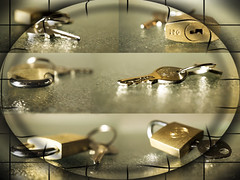 Padlocked! (Elisafox22) Tags: new photomanipulation photoshop keys colours patterns textures locks padlock challenge photomanipulated postprocessing ipad kreativepeople elisafox22 lockedandlatched elisaliddell©2015