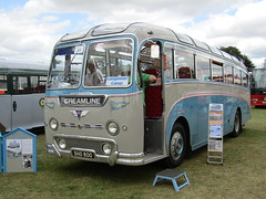 SHO 800 (markkirk85) Tags: new bus buses day rally running alton reliance aec 2015 creamline bordon 11958 duple