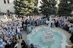 46. The blessing of water on the day of the Svyatogorsk icon of the Mother of God / Водосвятный молебен в день празднования Святогорской иконы Божией Матери