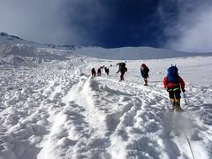 "Ascending alongside avalanche debris • <a style=""font-size:0.8em;"" href=""http://www.flickr.com/photos/41849531@N04/20459741861/"" target=""_blank"">View on Flickr</a>"