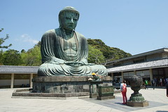 jap.2243 (Peter Hessel) Tags: 1a amida amitabha buddha buddhist buddhisttemple daibutsu geo:lat=3531673132 geo:lon=13953560313 geotagged hase japan jpn kamakura kanagawaken kotokuin statue thegreatbuddhaofkamakura temple
