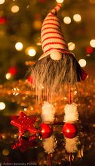 Christmas wreath (Robert Benatzky Picture) Tags: robertbenatzkypicture christmaswreath weihnachtswichtel christmas weihnachten bokeh lights lichter reflektionen lightreflection beautiful