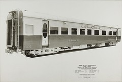 Iraq Railways - Iraqi State Railways - First class coach Nr. 1203 for Iraq's meter-gauge railway system (Cravens, 1952) (HISTORICAL RAILWAY IMAGES) Tags: iraq railways train coach cravens 1952 narrowgauge isr iraqistaterailways