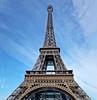 la Tour Eiffel (capvera) Tags: tour toureiffel architecture paris metal construction contreplongée lowangle sony rx100m2