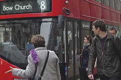 #8 Advent Calendar 2016 (steven.kemp) Tags: london bank bow 8 bus red city threadneedlestreet