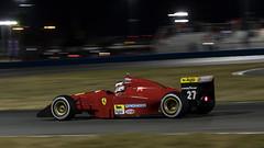 #27 C.Overgaard 1994 FerrariF399 Alesi-4 (rickstratman26) Tags: ferrari finali mondiali race racing racecar racecars motorsport motorspotrs car cars canon daytona international speedway panning night nighttime formula one f1