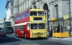 Ribble 1987 840630 Liverpool [jg] (maljoe) Tags: ribblemotorservices ribble ribblebuses bristolvrt bristol vrt