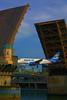 Stunt Flying (swong95765) Tags: plane jet bridge drawbridge ride thrill fly flying river stunt photoart