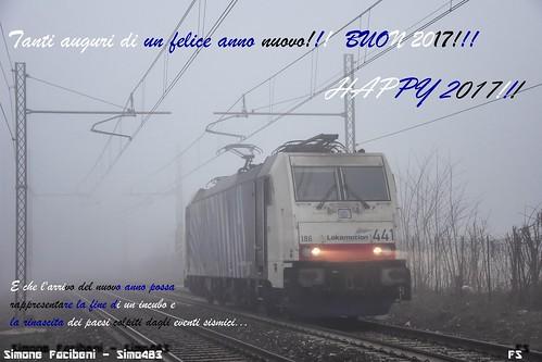 E186.441 Lokomotion - BUON ANNO NUOVO A TUTTI VOI!!!