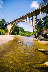 Russian Gulch Bridge (Thomas Hawk) Tags: america california frederickwpanhorstbridge mendocinocounty russiangulchbridge usa unitedstates unitedstatesofamerica bridge fav10 fav25 fav50 fav100