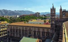 Palermo (Fil.ippo) Tags: palermo sicilia sicily cityscape panorama cattedrale cathedral palazzodeinormanni palace filippo filippobianchi d7000
