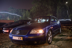 VW Passat B5 (kevinamorim) Tags: car volkswagen passat b5 wagon night