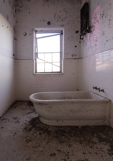 •Hydrotherapy tub at an Abandoned Mental Institution