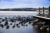 Ghost Ducks (burakpinarcik) Tags: canon eos classic 5dc ef 85mm f18 usm long exposure nature sky cloud hoya hmc ndx400 filter nd400 ankara golbasi turkey winter frozen lake 5d nd daylight flickr