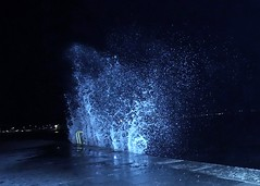 Kiellinie Hochwasser Wind (julianknipst) Tags: kielerförde kiellinie hochwasser splash sturm