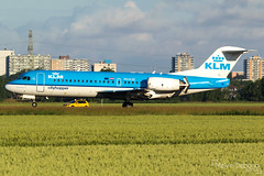 KLM Cityhopper Fokker 70  |  PH-KZE  |  Amsterdam Schiphol - EHAM (Melvin Debono) Tags: klm cityhopper fokker 70 | phkze amsterdam schiphol eham melvin debono spotting canon 7d 600d airport airplane aviation aircraft air plane planes polderbaan holland netherlands