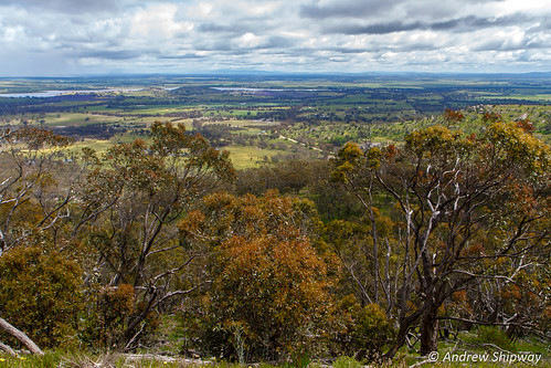 View from Mount Tarrengower, Maldon, Victoria.