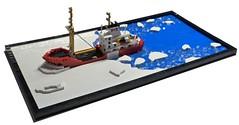 Icebreaker (Dodge...) Tags: lego slug icebreaker canada 150 birthday anniversary ice cold water smashysmash