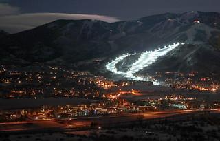 Steamboat night ski