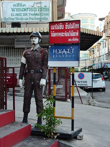 Toy Soldier and Assorted Signs
