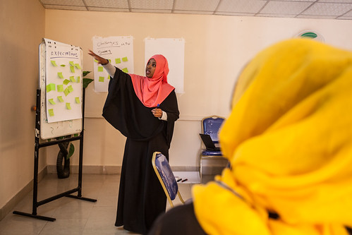 During an FGM Meeting, Hargeisa