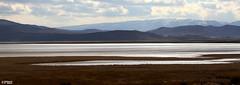 Silver Lake (Mahmoud R Maheri) Tags: winter mountain lake snow reflection water clouds iran shiraz maharloolake