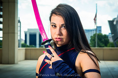 SP_40074 (Patcave) Tags: costumes canon comics book photo dc costume comic cosplay charlotte f14 culture 85mm sigma pop fantasy convention scifi heroes marvel ef 1740mm con cosplayers f40 2015 psylocke heroescon patcave heroescon2015