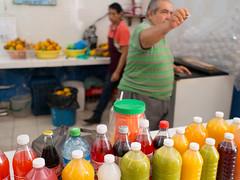 juices of all sorts (dolanh) Tags: mexico yucatan mercadomunicipal juices jugos islamujeres