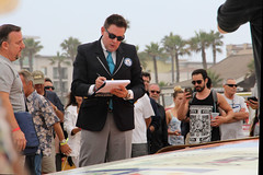 Michael Empric, adjudicator for Guinness World Records. (UNTIL THEN...) Tags: world ca beach big board guinness surfboard record huntingtonbeach largest surfcity inspect 6202015 michaelempric