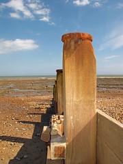 Pett Level (Leonard Bentley) Tags: uk england beach shore groyne eastsussex pettlevel