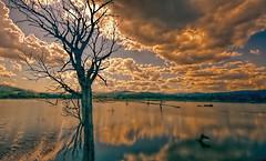 _****_ (* landscape photographer *) Tags: italy lago tramonto nuvole natura lucania profumo nikond90 landscapephotographer salvatorecantisano