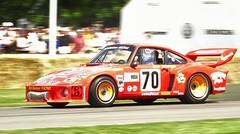 Brian Redman, Porsche 935, Goodwood Festival Of Speed 2015 (wezwerran13) Tags: classiccars goodwood festivalofspeed brianredman historicracing classicsportscars historicsportscars porsche935 historicporsche goodwoodfestivalofspeed2015