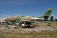 "F-84F ""Thunderstreak"" (SpeedyJR) Tags: southdakota military planes airforce usaf usairforce usmilitary militaryplanes f84fthunderstreak boxeldersd sdairandspacemuseum southdakotaairandspacemuseum speedyjr boxeldersouthdakota 2015janicerodriguez"