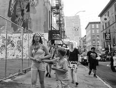 D7K_2609_epgs (Eric.Parker) Tags: nyc family boy bw usa ny newyork apple girl america graffiti big chinatown manhattan