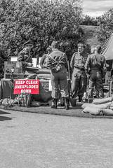 Upton House World War 2 Weekend (Eeee Bi Gum) Tags: army bomb warwickshire worldwar2 2ndworldwar uxb uptonhouse unexplodedbomb bombdisposal