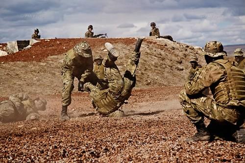 """Military members during """"Response 2013"""" drills in Armavir, Armenia"""