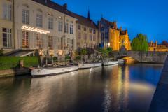 Hotel de Orangerie - Brugge, Belguim (ChuckPalmer {cepalm}) Tags: travel bike belgium brugge fav20 fav30 barge fav10 chuckpalmer