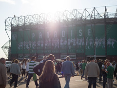 Paradise (burnsmeisterj) Tags: people football paradise glasgow olympus celtic omd em1 glasgowcelticfc