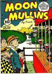 Moon Mullins 2 (Michael Vance1) Tags: art comics funny artist satire humor adventure comicbooks comicstrip goldenage cartoonist anthology