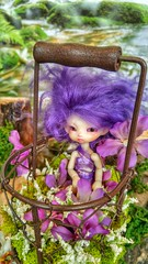 Alegria (Mixi Michi) Tags: ball doll cabinet charles fairy tiny bjd ccc creature firefly fidelia jointed