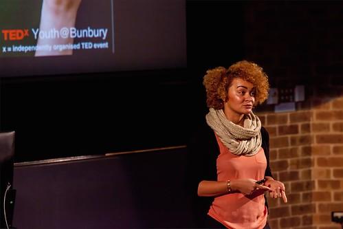 Keeya-Lee Ayre speaks at TEDxYouth@Bunbury