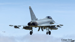 Eurofighter (Caspar Smit) Tags: airplane nikon fighter aircraft aviation jet eurofighter airforce typhoon leeuwarden luftwaffe frisianflag 3080 d7000 ehlw